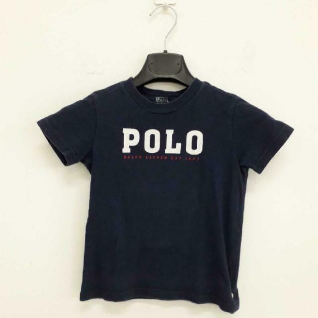 T shirt bambino polo ralph lauren blu