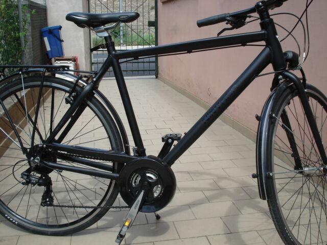 Bicicletta con telaio in fibra di carbonio