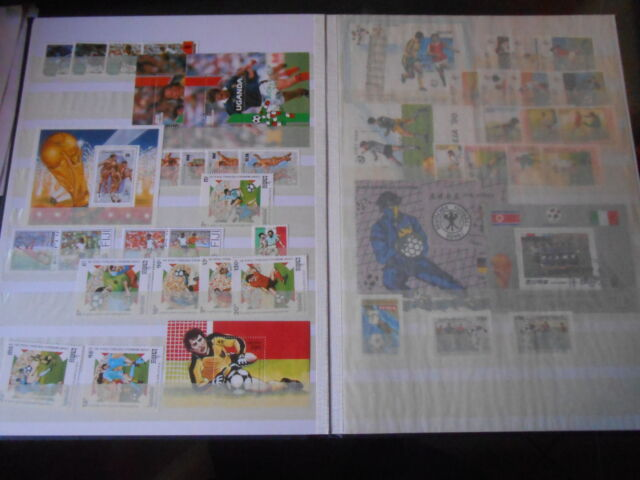 Francobolli commemorativi mondiali italia 90