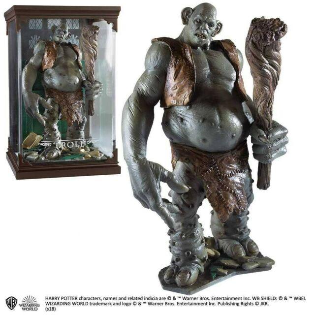 Gw jm harry potter magical creatures statue troll 13