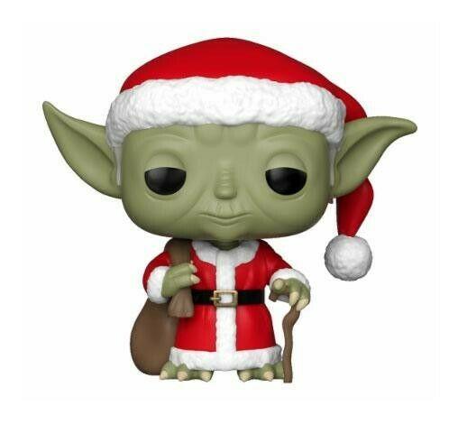 Gw jm star wars pop! vinyl bobble-head holiday santa