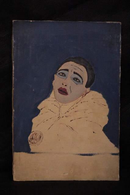 Dipinto a olio su tela del XX secolo.