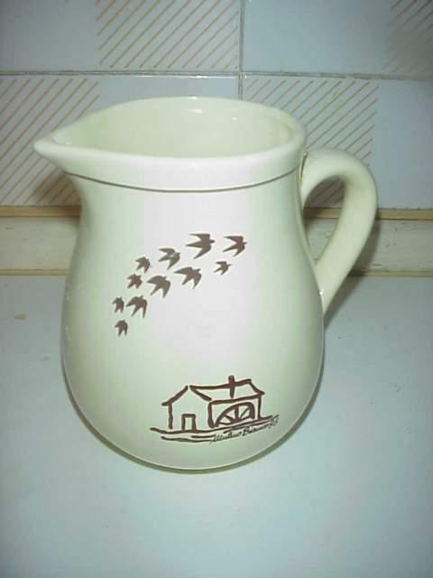 Mulino bianco brocca caraffa bricco latte vintage  epoca