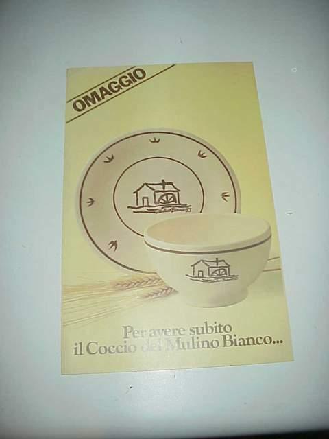 Mulino bianco brochure catalogo raccogli punti vintage anni