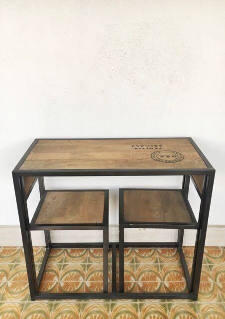 Tavolino snake stile industrial