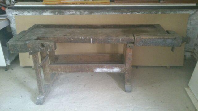 Banco tavolo da falegname