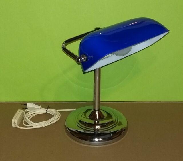 Lampada Ministeriale da tavolo / scrivania in metallo e