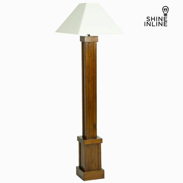 Lampada da terra legno di mindi (173 x 40 x 40 cm) by shine