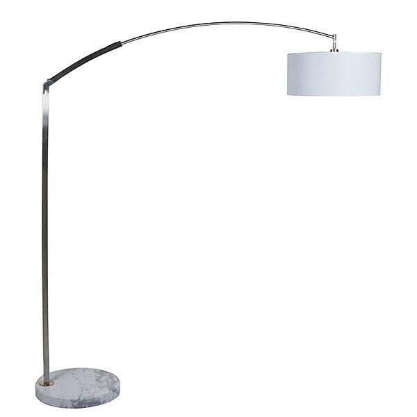 Lampada da terra ottone (50 x 12 x 200 cm)