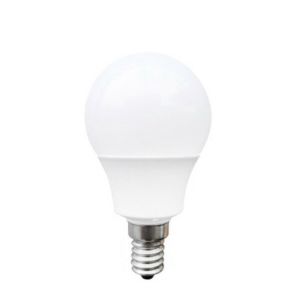 Lampadina led sferica omega e14 3w 240 lm  k luce calda