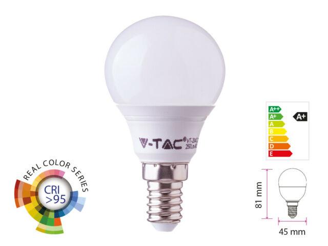 Lux lcc lampada a led e14 cri 95 pw 470lm caldo