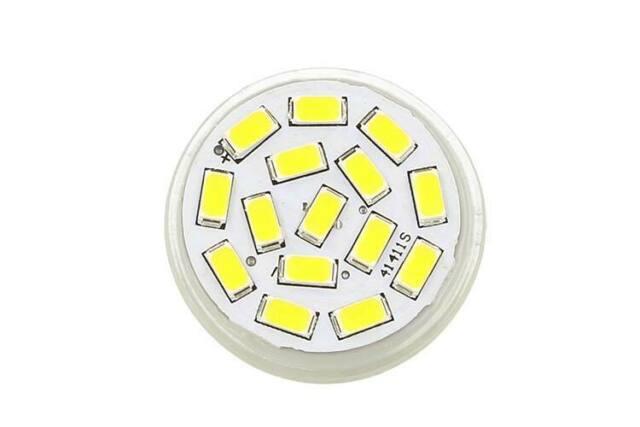 Lux mrc lampada mr11 gu4 led 12v 24v 3,5w bianco caldo -