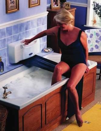 Sollevatore per vasca da bagno per anziani e disabili