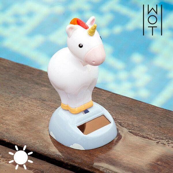Unicorno ad energia solare con movimento wagon trend