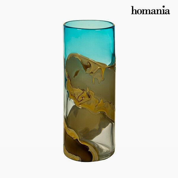 Vaso geam (12 x 12 x 30 cm) - pure crystal deco collezione