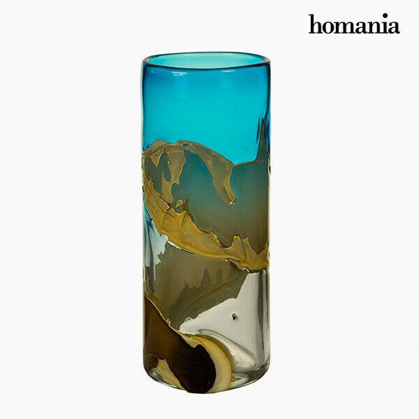 Vaso geam (14 x 14 x 35 cm) - pure crystal deco collezione