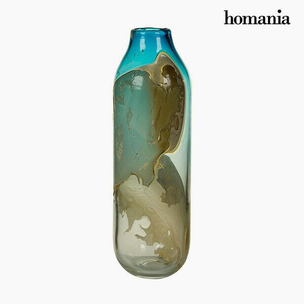 Vaso geam (14 x 14 x 44 cm) - pure crystal deco collezione