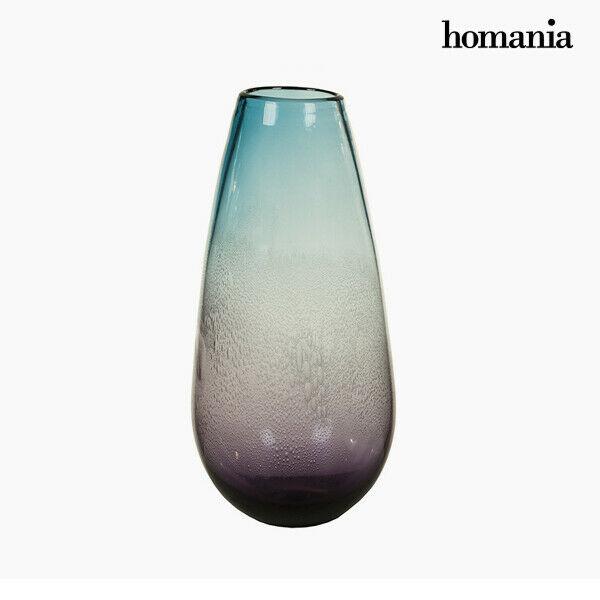 Vaso geam (18 x 18 x 37 cm) - pure crystal deco collezione