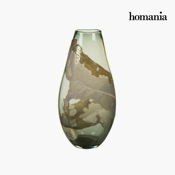 Vaso geam (24 x 16 x 45 cm) - pure crystal deco collezione