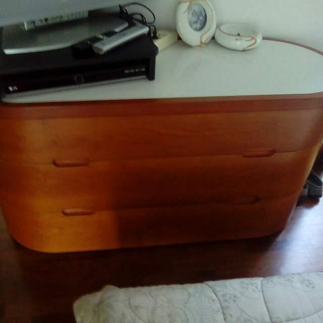 Bellissima camera da letto matrimoniale legno massello