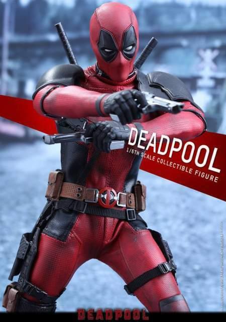 Deadpool hot toys sideshow