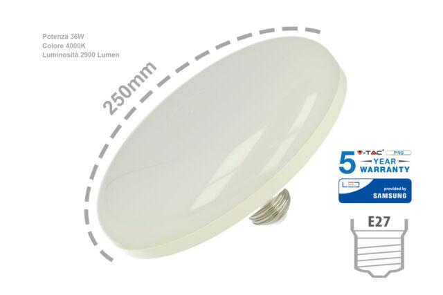 Lux lcn lampada led e27 ufo fw 220v bianco neutro