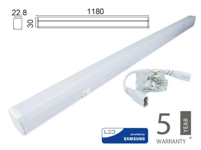 Lux tln plafoniera tubo led tcm 16w neutro k