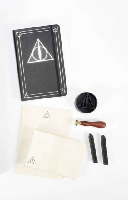 Gw jm harry potter deluxe stationery set the deathly
