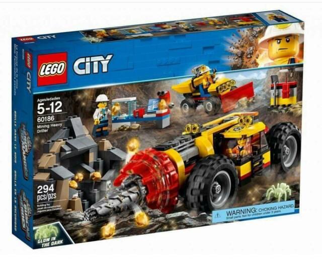 Gw jm lego city  - miniera: trivella pesante da