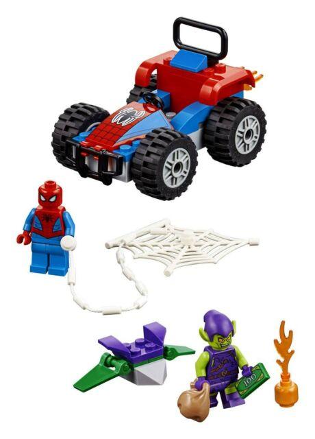 Gw jm lego' marvel super heroes' spider-man car chase