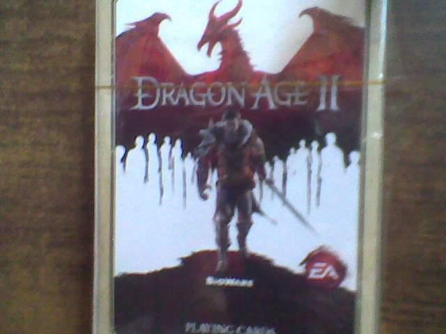 Dragon age II mazzo di carte da gioco nuovo sigillato