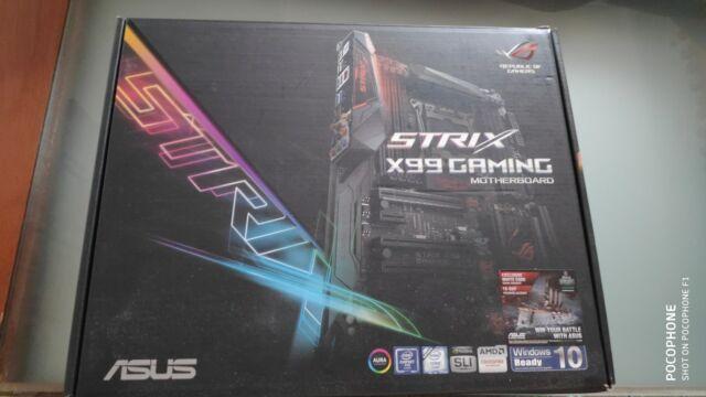 Asus Strix x99 gaming ik 16 gb ddr4