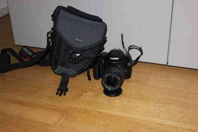 Fotocamera Canon EOS d reflex digitale + obiettivo