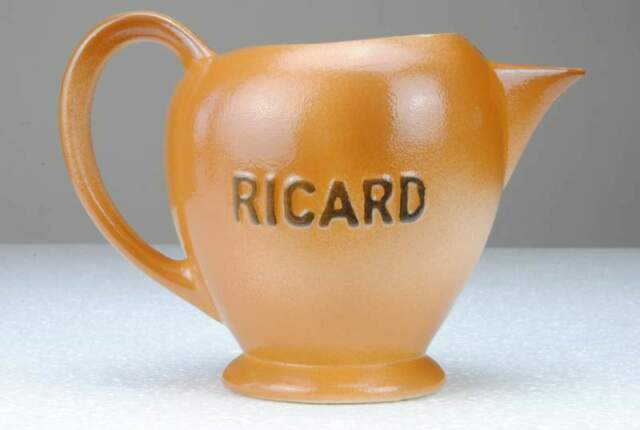 Ricard Pernod Atelier Ceramique Jug Brocca Caraffa France