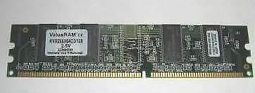 Banchi di memoria RAM da 128 MB