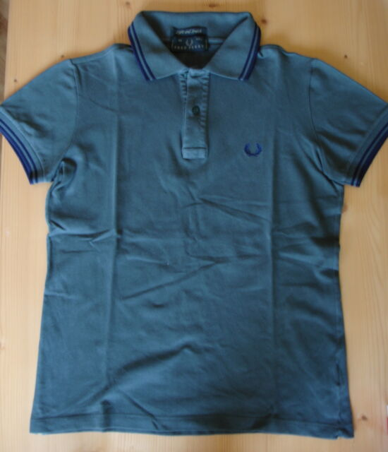Polo Fred Perry cm in cotone, verde salvia