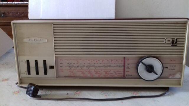 Radio GBC anni 60, non funzionante.