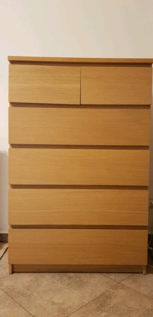 Cassettiera Ikea Malm Usata.Ikea Malm Scrivania Con Piano Estraibile Bianco Posot Class