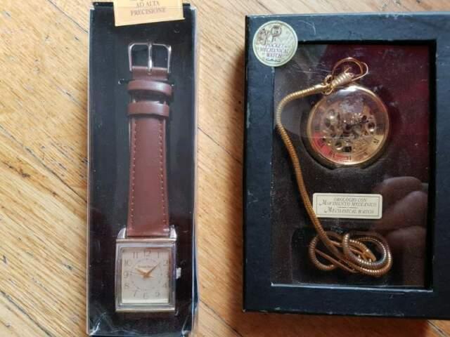 2 orologi da collezionismo nuovi