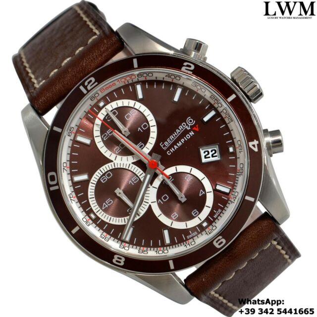 EBERHARD & CO Champion V Chronograph CP brown dial