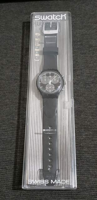 Orologio Swatch chrono Wall street 91