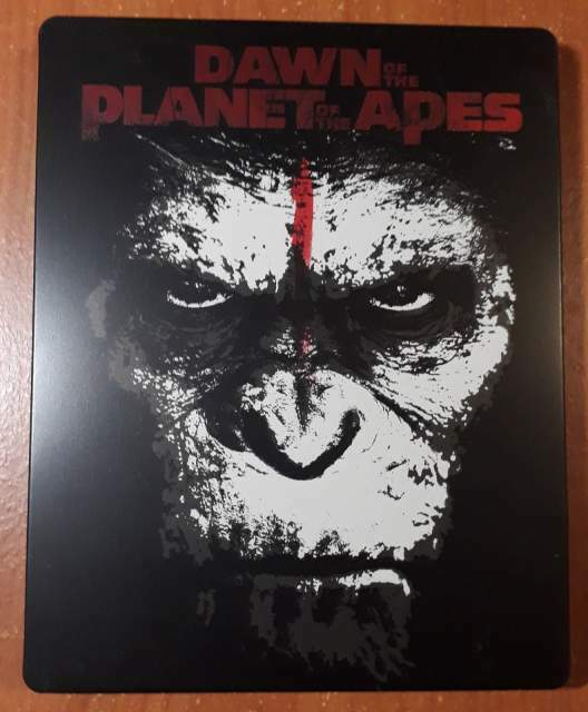 Apes Revolution Il Pianeta Delle Scimmie Steelbook 3D +