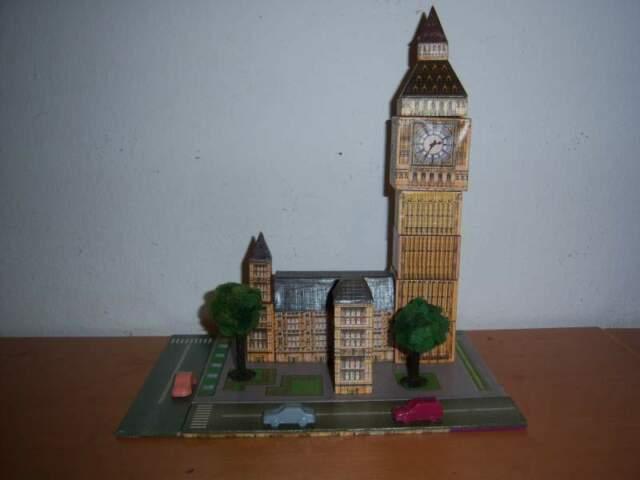 Gioco educativo wooden magnetic puzzle Big Ben
