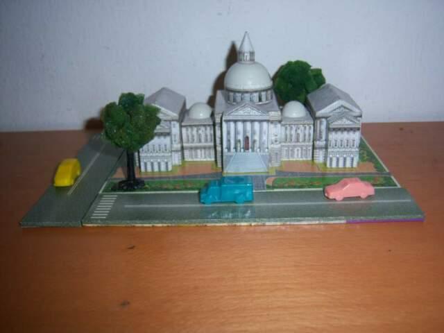 Gioco educativo wooden magnetic puzzle U.S. Capitol