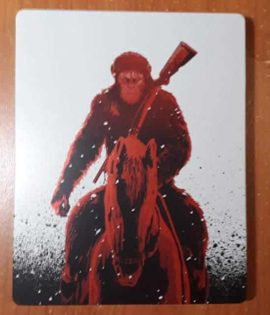 The War Il Pianeta Delle Scimmie Steelbook Blu-ray