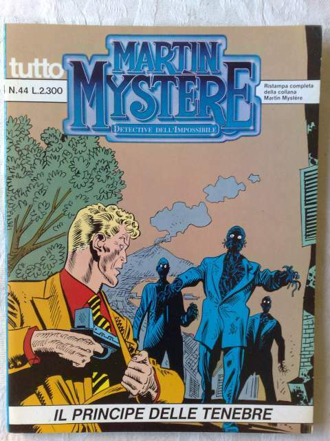 Tutto martin mystere n. 44 – il principe delle tenebre