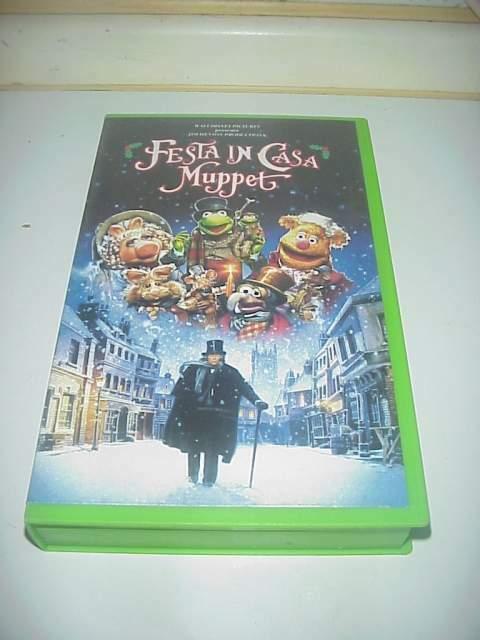 Festa in casa muppet vhs videocassetta film ex nolo noleggio