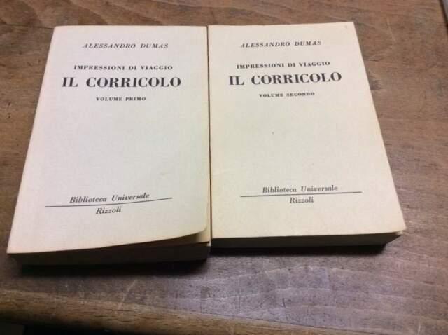 Il Corricolo. 2 Volumi Dumas,A.