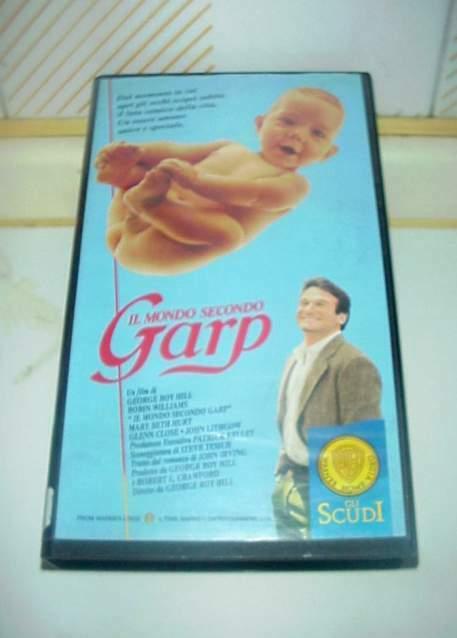 Il mondo secondo Garp vhs videocassetta ex nolo noleggio