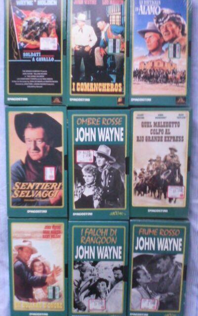 John wayne film vhs